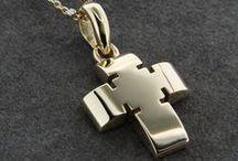 Σταυροί βάπτισης για αγόρι