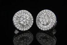 Σκουλαρίκια με διαμάντια - Diamond earrings