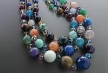 Κολιέ ημιπολύτιμοι λίθοι - Semi precious Stones