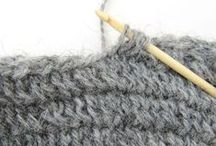 Nalbinding crochet - Virkad nålbindning
