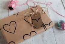 All You Need is Love! / A collection of heart felt wrapping papers ideal for that special someone in your life :)