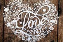 Paper Cutting Love / Paper cutting art