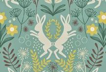 Patterns, Prints and Fabrics / A collection of patterns, prints and fabrics