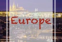 Europe Travel / A board with tons of pins that will help you travel to Europe. From city guides, things to do at the destination, itineraries and so much more. Check these pins to find the best content for your travels to #Europe.