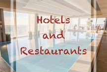 Hotels and accommodation / A board containing links to #travel blog posts related to #hotels