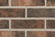 Culberson   Triangle Brick Company / Modeled after the Guadalupe Mountains, Culberson demonstrates the native plain in which Texas meets New Mexico. From rich creams and subtle browns to bold flashing on top of a malty, rich red-orange clay bursting through, Culberson can give a great cool, hardscape feel to any project.