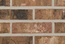 Montgomery   Triangle Brick Company / From the Sugar and Woodlands, the Montgomery provides a subtle, yet sophisticated look. With blends of creamy white, tan, brown, and charcoal hues, this brick can be paired with creamy tones, gray, brown, and soft sage tones.   The Montgomery can give any exterior project the ultimate appearance of worldliness and sophistication.