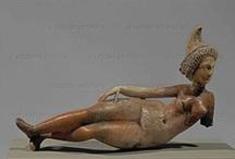 Ancient Goddess (female figurines) / by Adriana Kon