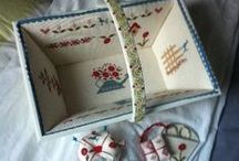 Cartonnage / Lovely gift ideas made out of cardboard.