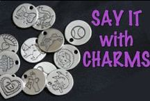 A Dog's Life in Charms / How do you tell the story of your dog's life?  With charms that depict the everyday objects of his or her shared life with you!  See the charms that you both can share - on a bracelet and a collar!