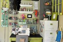 Craft Rooms / Be creative...Get Inspired