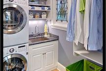 Laundry Rooms / clean + bright