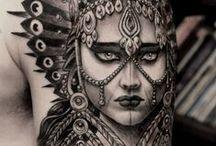 Artistic Tattoo Design