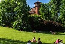 Torino verde / I fiumi, i #parchi, il verde urbano di #Torino