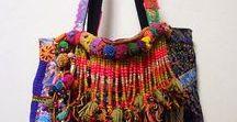 Gypsi, boho, hippie, bohemia bags.