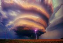 Formidable phenomena of nature !!! Thunderstorms, lightning, hurricanes ... / Грозы , молнии и ураганы.
