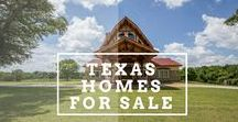 Texas Homes for Sale / Why rent when you can own a piece of Texas?