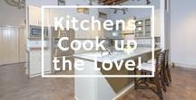 Kitchens-Cook up the love & memories! / Well-designed kitchens, where all the tasty memories are made