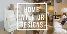 Home Interior Designs / Cozy and comfortable interiors, country setting, modern style, contemporary, and traditional designs