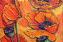 ART TUTORIALS: Acrylics