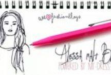 Alessa malt Blogger / Bloggeraktion von my-dress-codes.de: Eine Sammlung der schönsten Fashion-Blogs im Netz. My-Dress-Codes.de zeichnet die Blogger mit einem persönlichen Porträt aus.