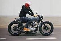 Motorcycles / Stylish Motorbikes and cars.