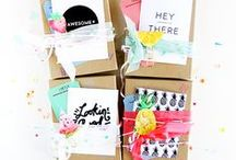 Gift Ideas and Wrapping / Ideas for gifts, presents, DIY gifts and brown paper wrapping!