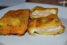 GASTRONOMIA y RECETAS / Tablero con recetas y platos curiosos