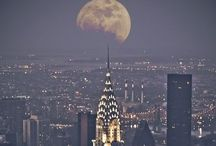 New York and area / Manhattan Moon