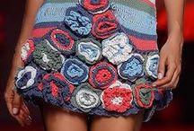 Knitting dress