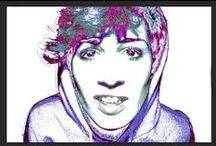 • Graphic Willow • / photography // illustration // photoshop // self portrait // colours