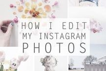 All About Instagram / Tips and tricks I've found for growing your Instagram following, shooting better flat-lays, best filters to use and Instagram editing apps, creating a cohesive feed and creating an Instagram theme.