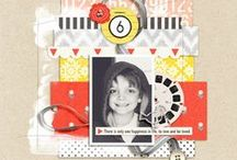 SS | Creative Team / Digital, Hybrid and Pocket Page Scrapbooking Projects by the Sahlin Studio Creative Team