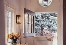 • SPACE WITHIN THE HOME • / Foyers, Halls, Dinning, Living & Media rooms / by Sharon Lee