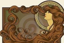Art Nouveau #1 / by Carol Shepko