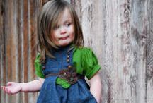 GIRLS CLOTHES IDEAS AND INSPIRATIONS / I have made Childrens Clothing for many years and love to get inspiration from everywhere. / by LindaKay Pardee
