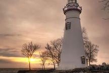 Lighthouses / Includes Cedar Point Lighthouse, Huron Lighthouse, Marblehead Lighthouse, Port Clinton Lighthouse, South Bass Island Lighthouse, and Vermilion Lighthouse.