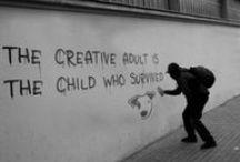 Appreciating Creativity / #advertising, #typography, #creativity, #DIY, #art