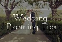 Wedding Planning Tips / Tips and tricks to help prepare for your wedding day–allowing it to be as smooth as possible.