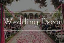 Wedding Decor / wedding decoration ideas & inspiration