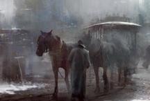 City / Town Scenes in Art #3 / by Carol Shepko