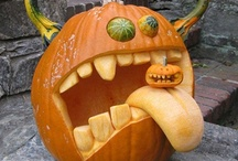 Fun Pumpkin Ideas / I'm trying to decide how to carve my pumpkin this year. I'm thinking of trying something more sculptural.