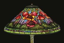 TIFFANY LAMPS / I love all of the jewel tones of glas that are in a Tiffany Lamp. / by LindaKay Pardee