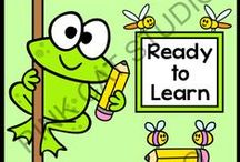 Frog Theme Classroom / Create a fun classroom with Pink Cat Studio's frog theme classroom decor! Everything you need to decorate your classroom and motivate your students: behavior chart, classroom jobs labels, reward punch cards, clock decor, alphabet posters, numbers posters, nameplates, newsletter templates, birthday board and editable labels so you can get creative and make anything you need.