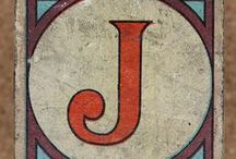 j for jemima / by Jem's Bright Buttons