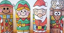 Christmas Activities and Games / Pink Cat Studio's fun teacher resources for Christmas and Winter. You'll find engaging interactive games, classroom decor, math and writing activities on this board.