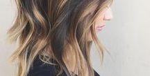 Style | Hair / Hair styles, hair color, braids