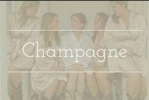 Champagne palette inspiration / Champagne color palette wedding inspiration