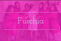 Fuschia palette inspiration / Fuschia color palette wedding inspiration