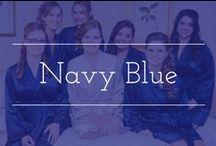 Navy Blue palette inspiration / Navy blue color palette wedding inspiration